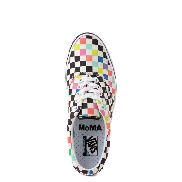 alternate view Vans x MoMA Era ComfyCush® Checkerboard Skate Shoe - White / RainbowALT4B