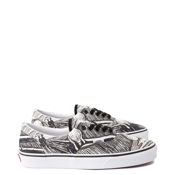 Main view of Vans x MoMA Era Edvard Munch Skate Shoe - White / Black