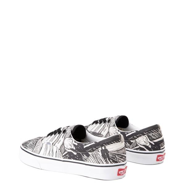alternate view Vans x MoMA Era Edvard Munch Skate Shoe - White / BlackALT2