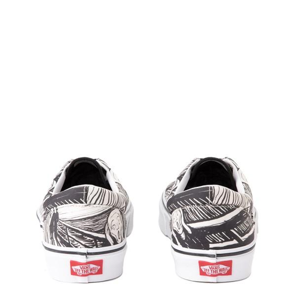 alternate view Vans x MoMA Era Edvard Munch Skate Shoe - White / BlackALT2B