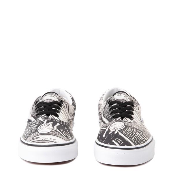 alternate view Vans x MoMA Era Edvard Munch Skate Shoe - White / BlackALT4