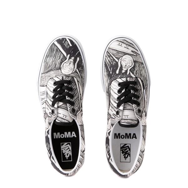 alternate view Vans x MoMA Era Edvard Munch Skate Shoe - White / BlackALT4B