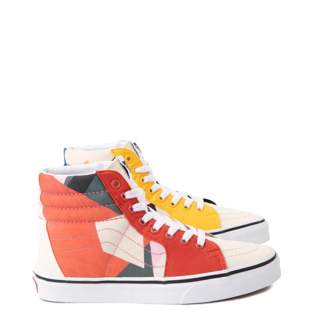 Vans x MoMA Sk8 Hi Lyubov Popova Skate Shoe - Red