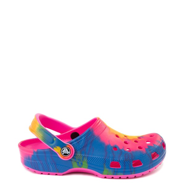 Main view of Crocs Classic Clog - Bright Tie Dye