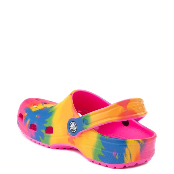 alternate view Crocs Classic Clog - Bright Tie DyeALT1