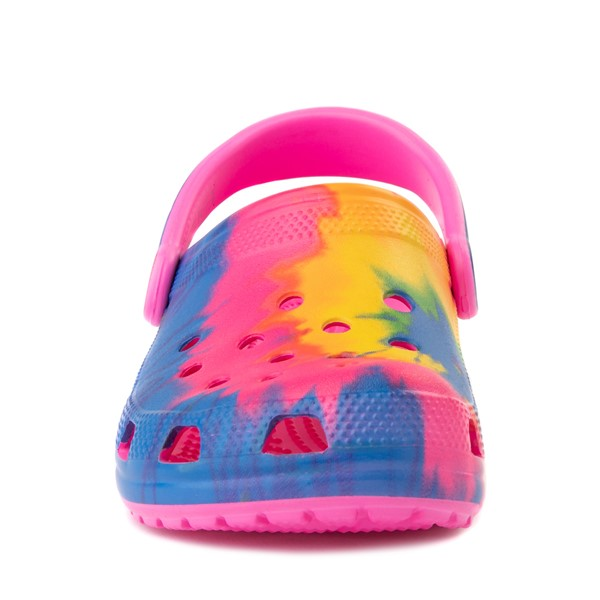 alternate view Crocs Classic Clog - Bright Tie DyeALT4