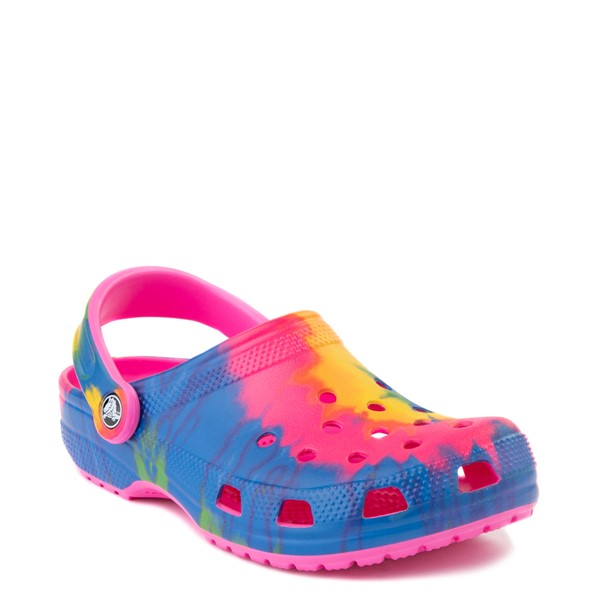 alternate view Crocs Classic Clog - Bright Tie DyeALT5