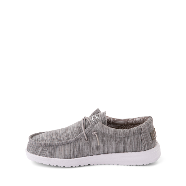 alternate view Hey Dude Wally Casual Shoe - Little Kid / Big Kid - StoneALT1