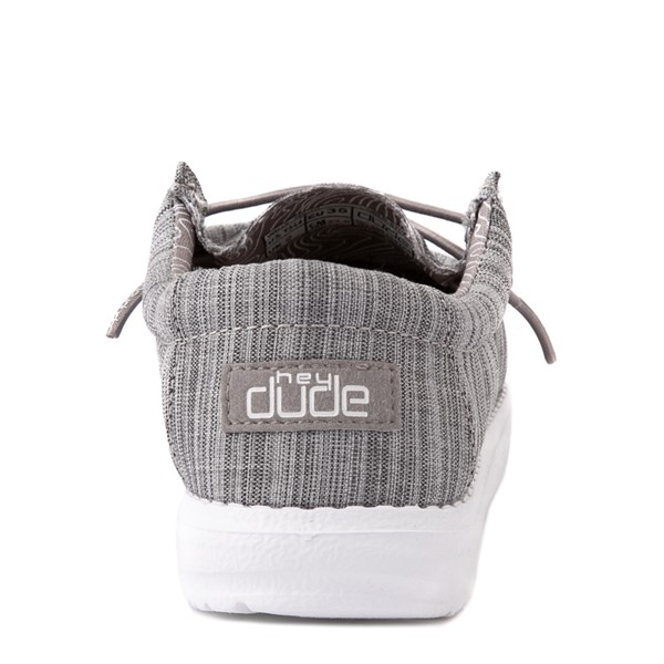 alternate view Hey Dude Wally Casual Shoe - Little Kid / Big Kid - StoneALT2B