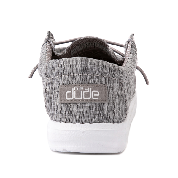 alternate view Hey Dude Wally Casual Shoe - Little Kid / Big Kid - StoneALT4
