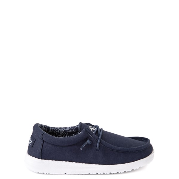 Main view of Hey Dude Wally Casual Shoe - Little Kid / Big Kid - Navy