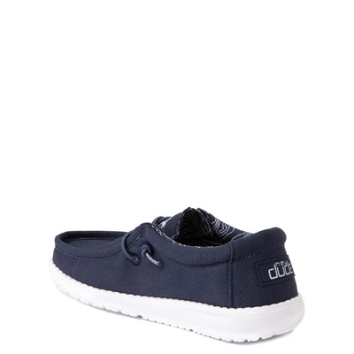 Alternate view of Hey Dude Wally Casual Shoe - Little Kid / Big Kid - Navy