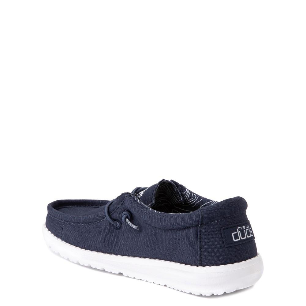Hey Dude Wally Youth Shoes 6, Stone