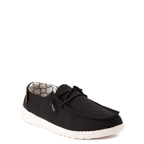 alternate view Hey Dude Wendy Slip On Casual Shoe - Little Kid - BlackALT5