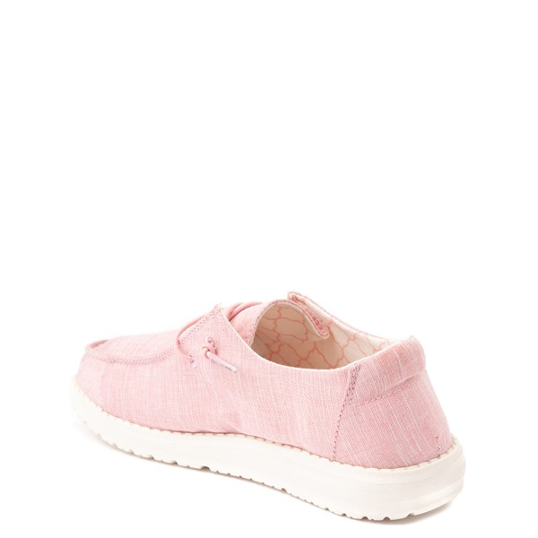 alternate view Hey Dude Wendy Slip On Casual Shoe - Little Kid / Big Kid - Cotton CandyALT1