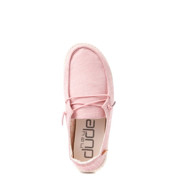 alternate view Hey Dude Wendy Slip On Casual Shoe - Little Kid / Big Kid - Cotton CandyALT2