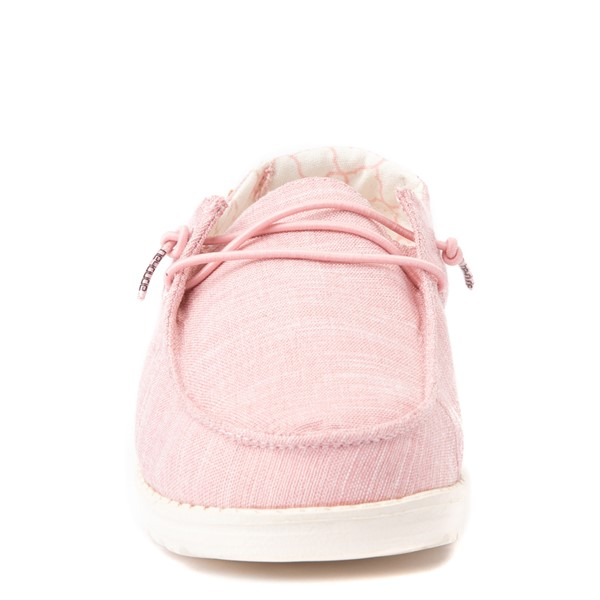alternate view Hey Dude Wendy Slip On Casual Shoe - Little Kid / Big Kid - Cotton CandyALT4