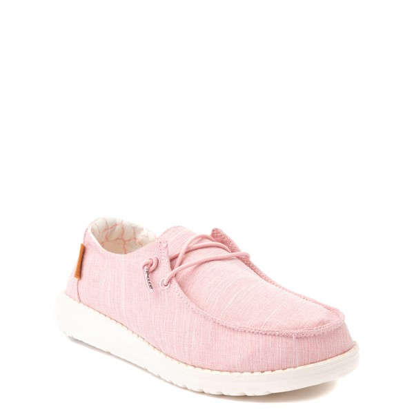 alternate view Hey Dude Wendy Slip On Casual Shoe - Little Kid / Big Kid - Cotton CandyALT5