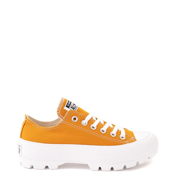 Womens Converse Chuck Taylor All Star Lo Lugged Sneaker - Saffron