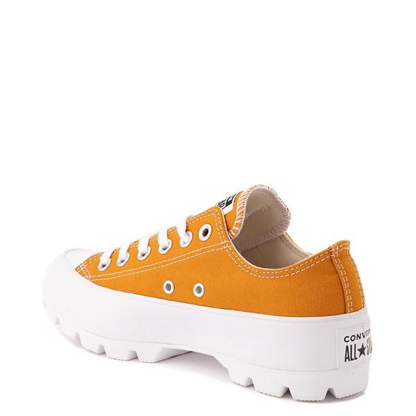 alternate view Womens Converse Chuck Taylor All Star Lo Lugged Sneaker - SaffronALT2