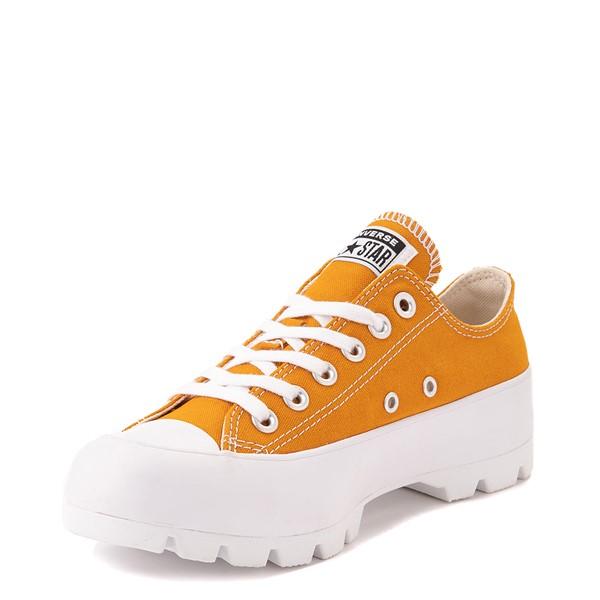 alternate view Womens Converse Chuck Taylor All Star Lo Lugged Sneaker - SaffronALT3