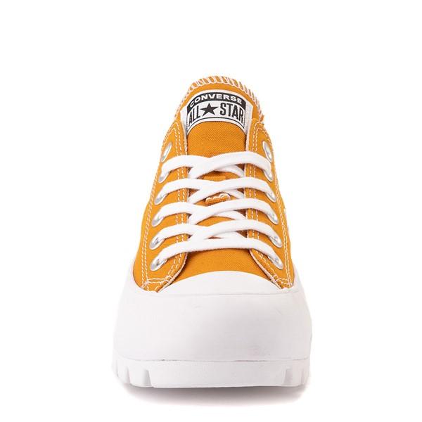 alternate view Womens Converse Chuck Taylor All Star Lo Lugged Sneaker - SaffronALT4