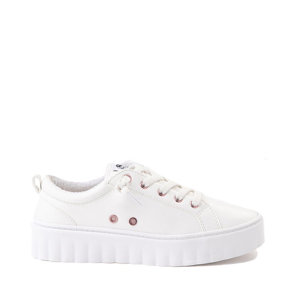 Womens Roxy Sheilahh Platform Casual Shoe - White