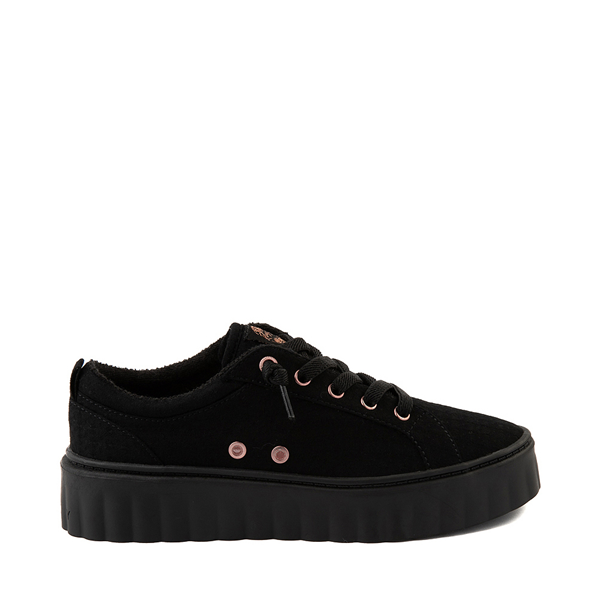 Main view of Womens Roxy Sheilahh Platform Casual Shoe - Black Monochrome