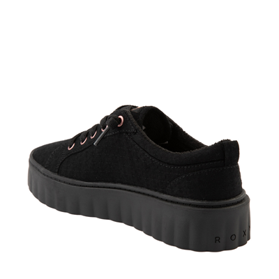 Alternate view of Womens Roxy Sheilahh Platform Casual Shoe - Black Monochrome