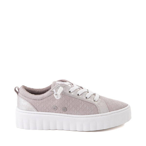 Womens Roxy Sheilahh Platform Casual Shoe - Gray