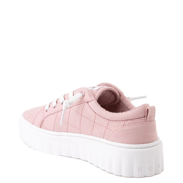 alternate view Womens Roxy Sheilahh Platform Casual Shoe - BlushALT1