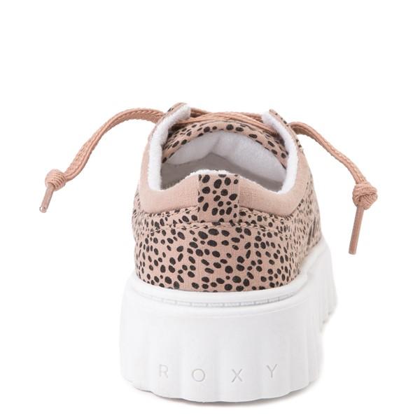 alternate view Womens Roxy Sheilahh Platform Casual Shoe - LeopardALT4