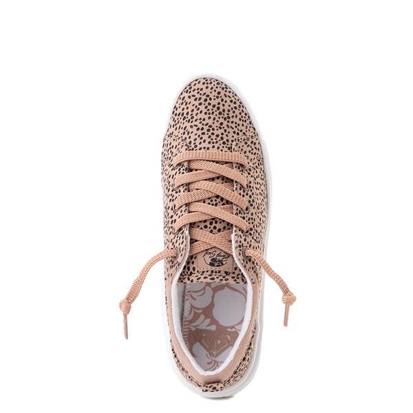 alternate view Womens Roxy Sheilahh Platform Casual Shoe - LeopardALT4B