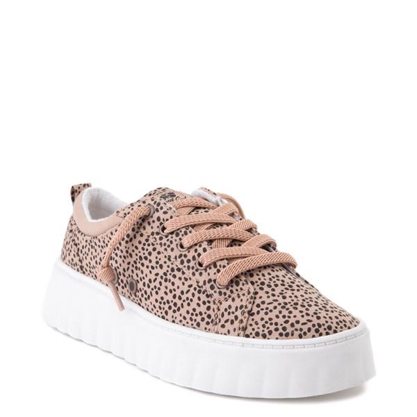 alternate view Womens Roxy Sheilahh Platform Casual Shoe - LeopardALT5