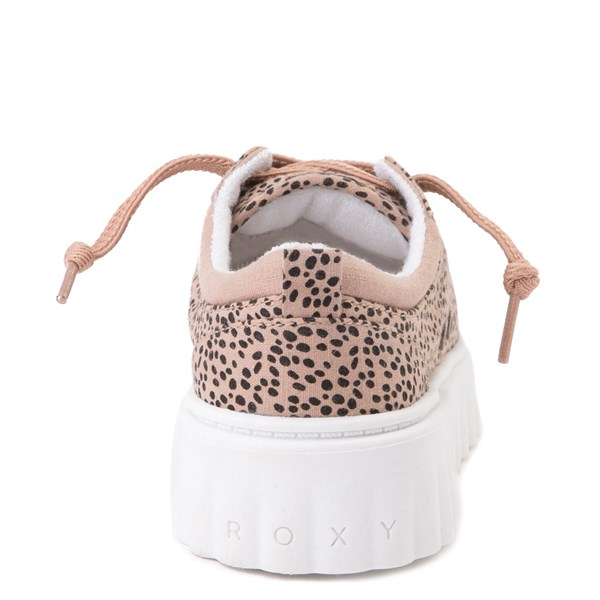 alternate view Womens Roxy Sheilahh Platform Casual Shoe - LeopardALT6