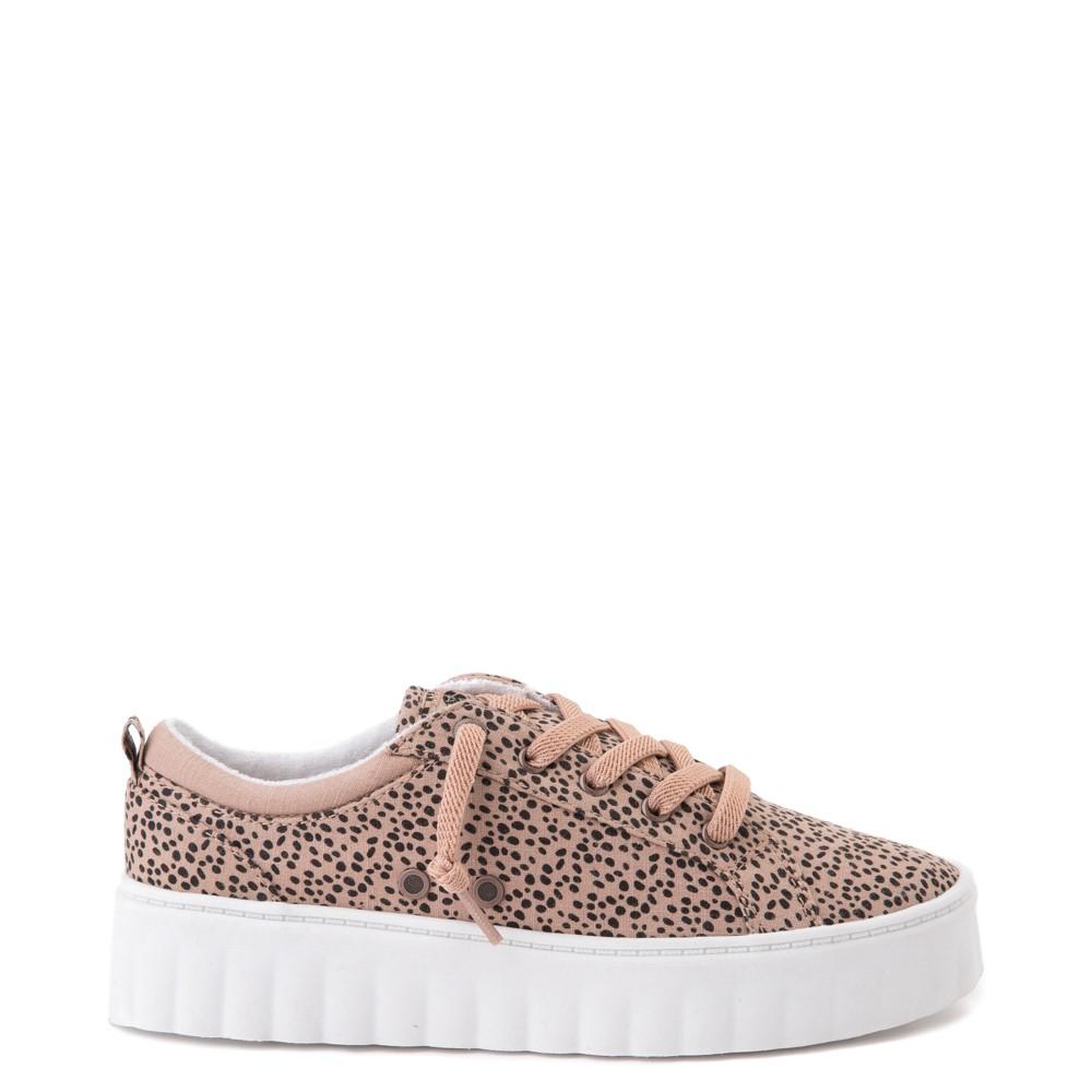 Womens Roxy Sheilahh Platform Casual Shoe - Leopard