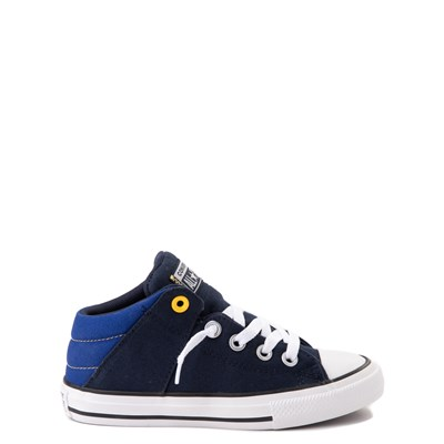Main view of Converse Chuck Taylor All Star Axel Mid Sneaker - Little Kid / Big Kid - Obsidian / Blue