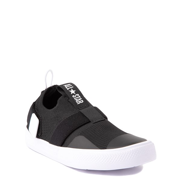 alternate view Converse Chuck Taylor All Star Superplay Knit Slip On Sneaker - Little Kid / Big Kid - BlackALT1