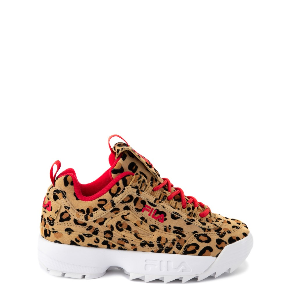 Fila Disruptor 2 Athletic Shoe - Big Kid - Leopard