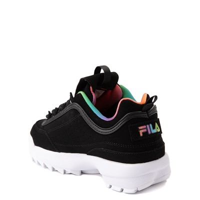 Alternate view of Fila Disruptor 2 Athletic Shoe - Little Kid - Black / Rainbow