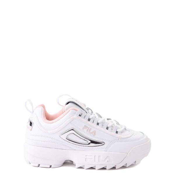 Fila Disruptor 2 Athletic Shoe - Big Kid - White / Silver