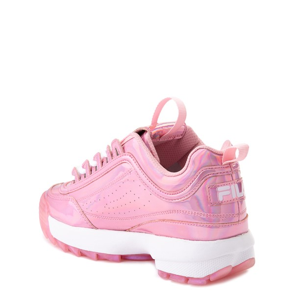 alternate view Fila Disruptor 2 Athletic Shoe - Little Kid - Iridescent PinkALT1