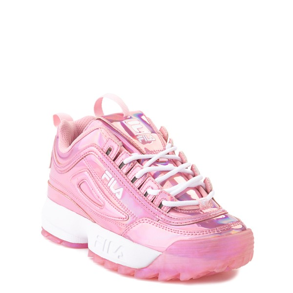 alternate view Fila Disruptor 2 Athletic Shoe - Little Kid - Iridescent PinkALT5
