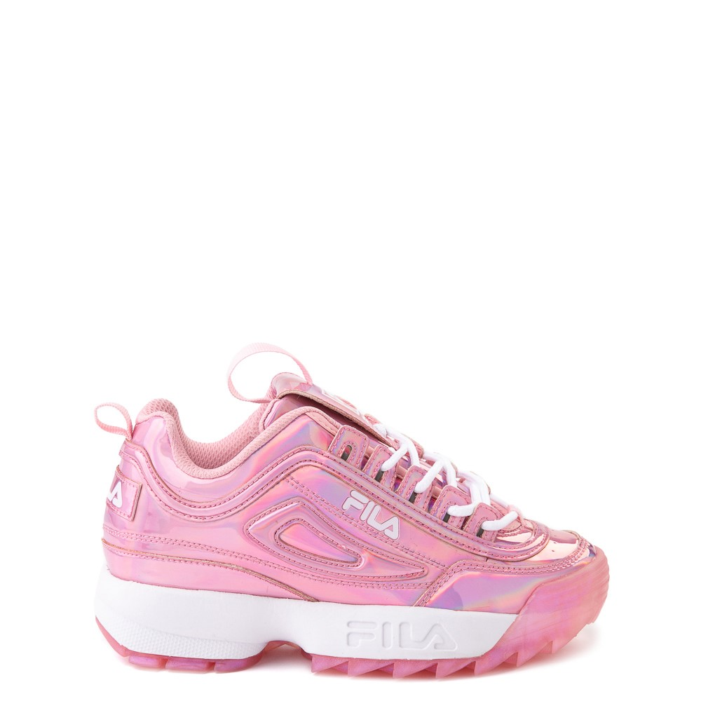 Fila Disruptor 2 Athletic Shoe - Little Kid - Iridescent Pink