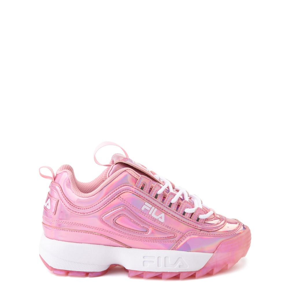 Fila Disruptor 2 Athletic Shoe - Big Kid - Iridescent Pink