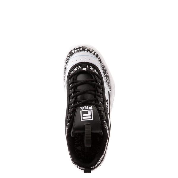 alternate view Fila Disruptor 2 Notebook Athletic Shoe - Big Kid - White / BlackALT4B