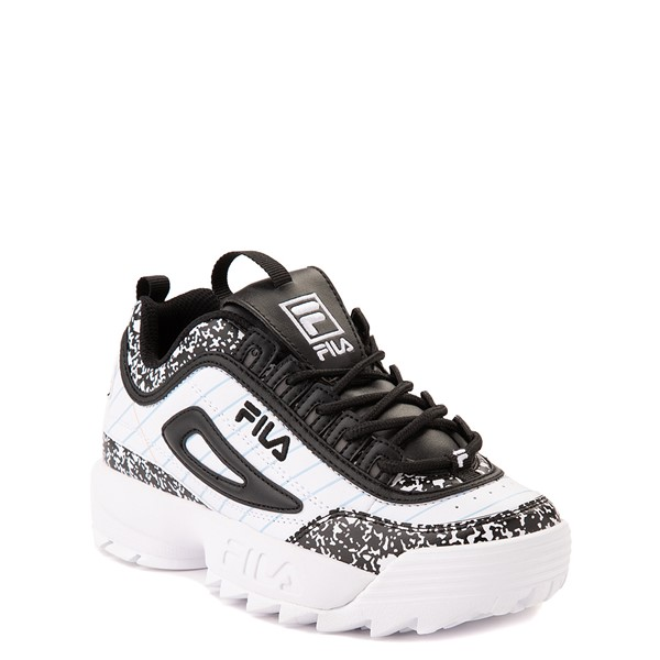 alternate view Fila Disruptor 2 Notebook Athletic Shoe - Big Kid - White / BlackALT5