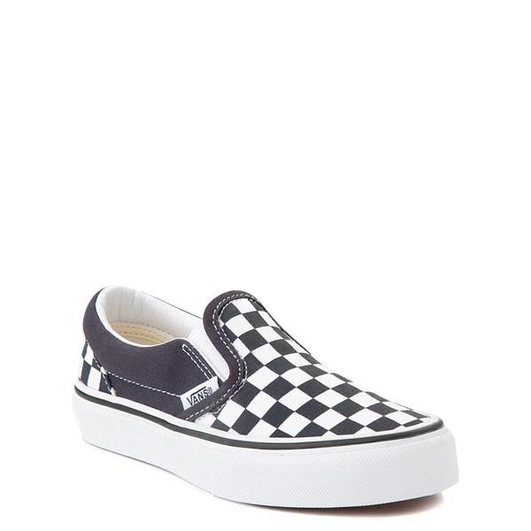 alternate view Vans Slip On Checkerboard Skate Shoe - Little Kid - India InkALT1