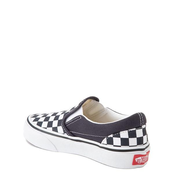 alternate view Vans Slip On Checkerboard Skate Shoe - Little Kid - India InkALT2