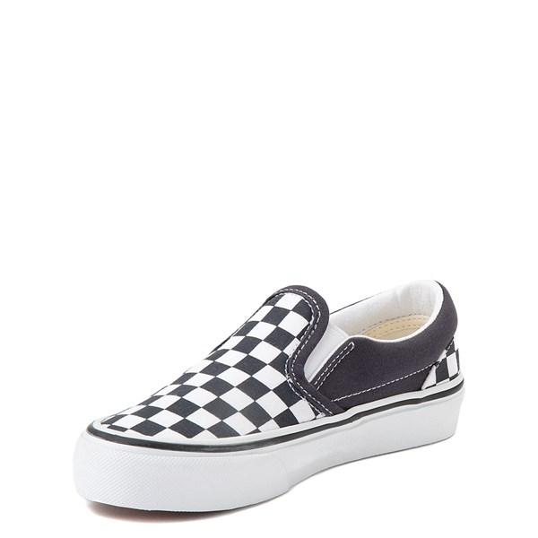 alternate view Vans Slip On Checkerboard Skate Shoe - Little Kid - India InkALT3